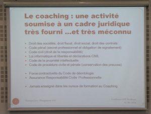 Cadre juridique du coaching