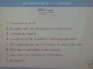 Référentiel de compétences EMCC